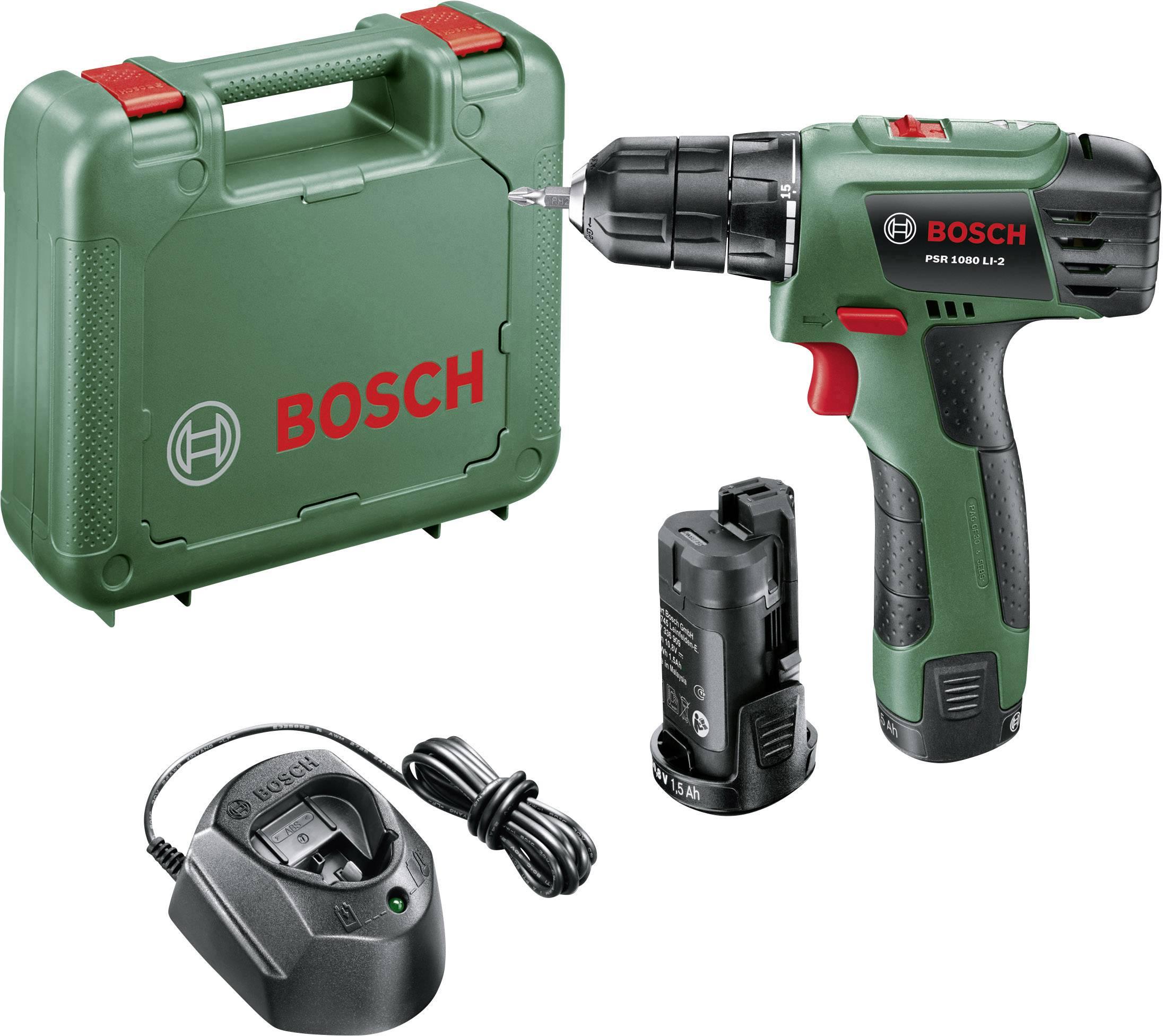 Bosch PSR 1080 LI-2 - Wkrętarka akumulatorowa