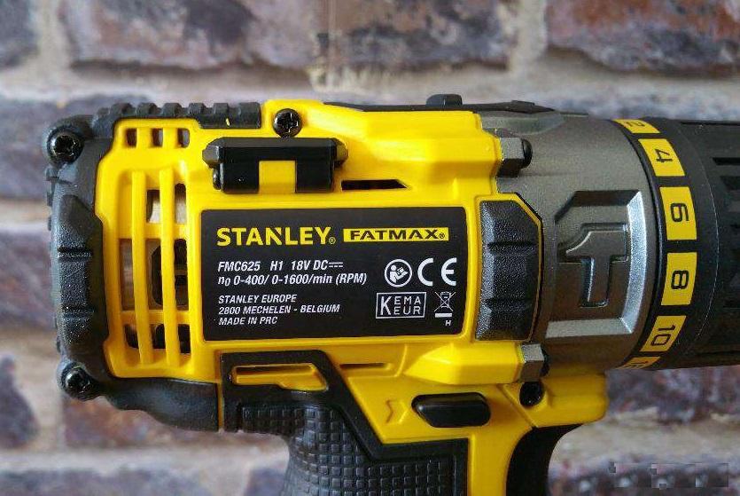 Test wkrętarki Stanley FMC625B